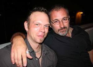 Blue Moon Bar. Jimmy och Christoffer