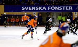 Per Hellmyrs körde hårt i andra halvlek, man Bollnäs lyckades bara få in en kvitering.