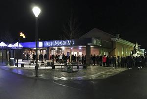 Blue Moon Bar  i november 2016. Numera är nattklubben nedlagd.