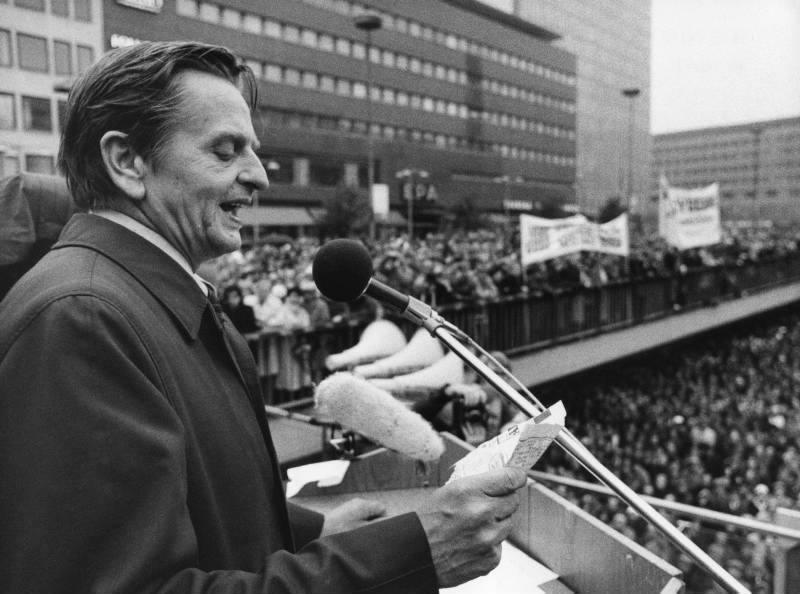 Olof palme var mest lysande retoriker