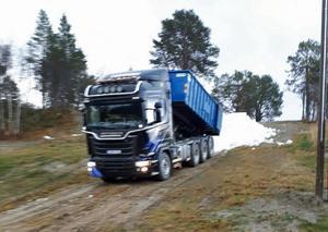 Snöutkörningen har påbörjats i Bruksvallarna.