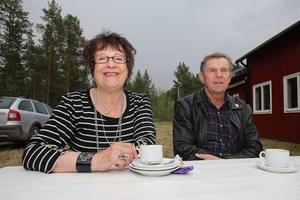 Lissi och Ulf Svedin var på besök från Svenstavik.