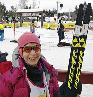 Kristina Holmberg var en av deltagarna i det lag från SPF Falun som deltog i StafettVasan.