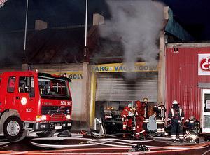 70 procent av brandmännen är deltidsbrandmän och heltid finns bara i de större städerna.