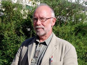 Göran Badlund som är ordförande i sällskapet S3 ser mycket fram emot surströmmingspremiären. Foto:Sanna Bergens