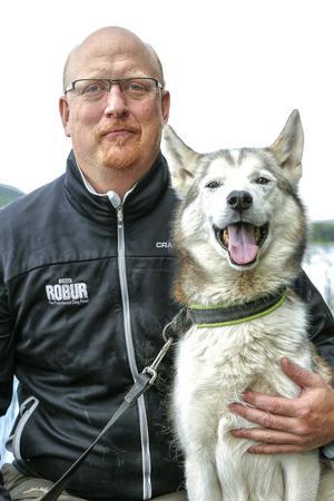 Niklas Andersson är projektledare för VM i draghund i Sveg 2018.