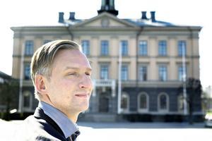 Jörgen Edsvik (S), kommunalråd i opposition i Gävle.