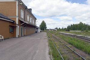 En ny väntkur kommer byggas vid Orsa station. Arkivbild.