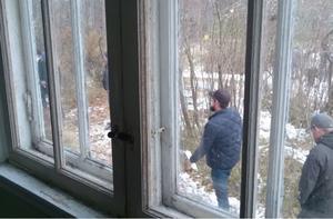 Många gick husesyn både invändigt och utvändigt.