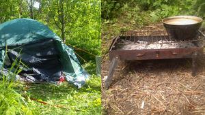 Elinorés första år som hemlös spenderade hon i sitt tält utanför Granlo.