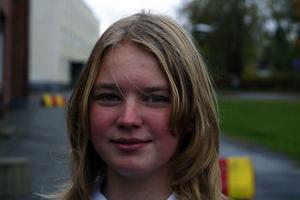 Amanda Östlund, 13, Alby:–Nej, jag ska bara vara hemma och vara.