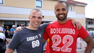Magnus Reuterwall och Stephan Rimér vann Läderloppet. Foto: Mikael Stenkvist