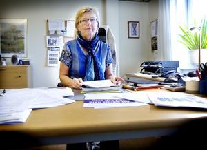Pia Andersson som arbetar på Hudiksvalls kommun vill ta fram alternativa lösningar inom boendefrågan för äldre.