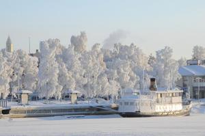 Långt ifrån isfritt, Hamnen Östersund