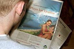 Foto: SCANPIX Norgehistoria. Blev du lurad av annonsen i Svenska Dagbladet i dag om att norska forskare lyckats med att föra in golfströmmen i landets tre största fjordar och att man med detta skapat turistorten Playa los Fjordos?