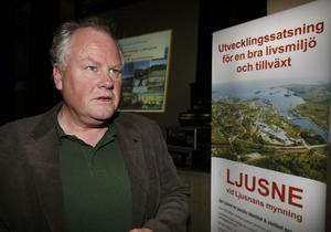 Ingemar Olofsson, kommunens utvecklings- och planeringschef.