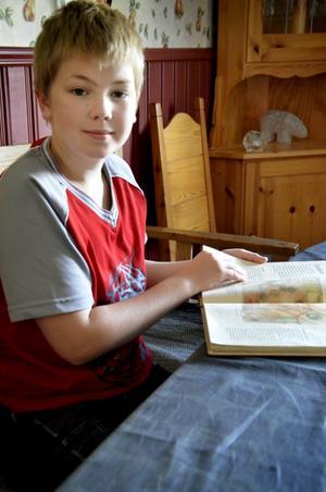 Alexander Gustafsson hade sett fram emot att börja skolan. Men när höstterminen drog i gång orkade han inte gå dit, utan satt hemma och läste i en bok om drakar i stället.