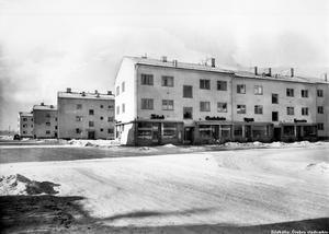 Vinter på Hagagatan på 40-talet.