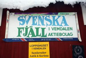 Snart en klassiker. Svenska fjäll var några år namnet på bolaget som drev anläggningarna på Vemdalsskalet, Björnrike och Storhogna.