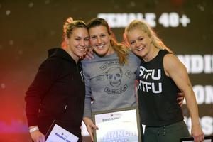 Helena Gissle, Anna Lundin och Malin Tittonen var vassast i damernas +40-klass.