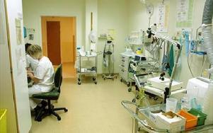 Sex nya vårdplatser har tillkommit på vårdavdelningen i Ludvika.FOTO:ANDERS BJÖRKLUND