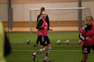 Emma Olsson är en av länstalangerna som har visat intresse för spel i BK30:s Tipselitlag.