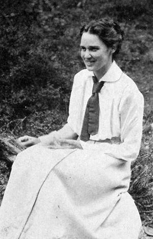 Poeten Harriet Löwenhjelm gick bort i tuberkulos 1918 , bara 30 år gammal.