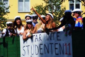 Lyckliga studenter!