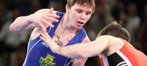 Daniel Molin, Arboga AK, förlorade sin finalmatch.