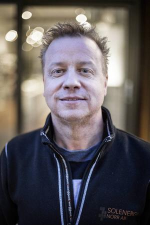 Börje Karlsson har starat Ecocaféet i Östersund.