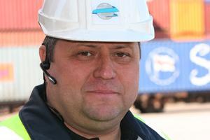 Driftchefen Stig Wåhlstedt har tagit över direktörsrollen på Gävle Containerterminal.