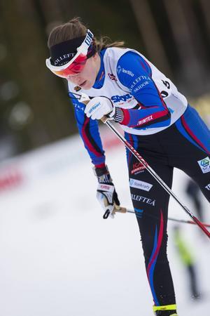 Ebba Anderssons säsong är över.