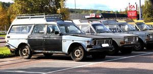 Bilvrak eller bilar med ett värde. Ägaren hoppas kunna sälja bilarna medan andra kallar dem skrot och att de förfular Sälens by.