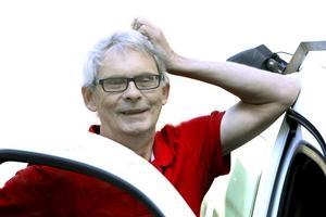 Jan-Erik Ode fyller 65 år i oktober och gör sin sista arbetsdag som chef för tidningsbuden.