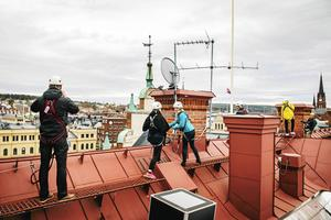 Vill man se Stenstansdagarna från ovan kanske en guidad takvandring lockar.