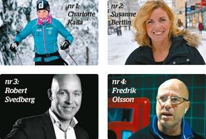Här är de fyra kandidaterna som du kan rösta på för att utse Årets Drake 2015.