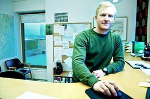 – Vad gäller Östersund så kan inte renare bilar förklara allt, säger Albin Månsson, miljöskyddsinspektör på Östersunds kommun.