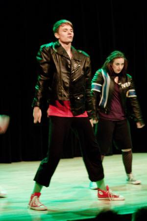 I år hade Dansotekets avslutningsshow Michael Jackson som tema.
