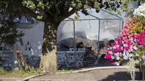Elsa Andersons konditori brann ned 21 augusti i år.