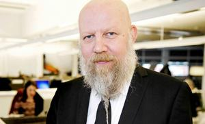 Daniel Nordström, chefredaktör och ansvarig utgivare för VLT, ifrågasätter att SVT helt vill gömma undan de borttagna Bert-avsnitten.