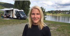 Josefine Lindberg på Sollefteå Camping: