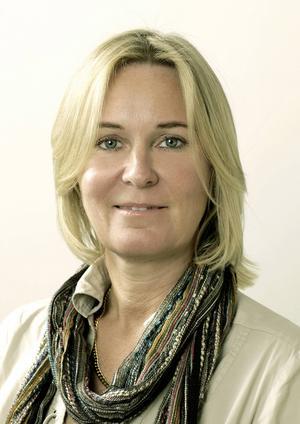 Författaren Carin Gerhardsen.
