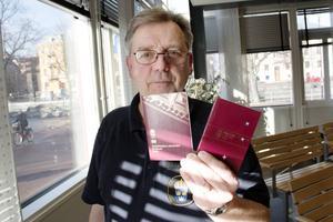 Reijo Vuori, passhandläggare på Gävleborgspolisen.