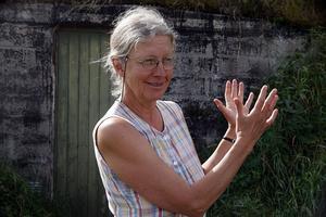 Monika Sundström är själv en entusiastisk ekobrukare.