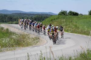 105 cyklister startade i årets upplaga av Bollnäsrundan.