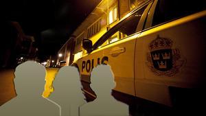 De tre misstänkta gärningsmännen är två män och en kvinna.