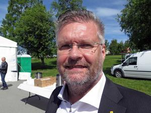 Mikael Bäckström, professor i maskinteknik vid Mittuniversitetet samt grundare av forskargruppen AIR.