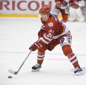 Andreas Molinder tillbaka i spel för Timrå IK.