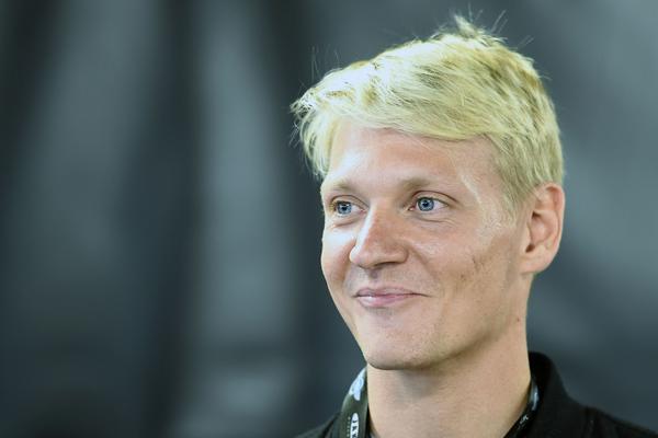 Fredrik Lindgren (arkivfoto).