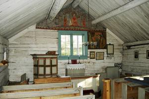 Bergöns kapell är populärt bland bröllopspar och vid barndop.